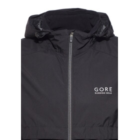 GORE RUNNING WEAR ESSENTIAL WS AS Zip-Off Jacket Men black